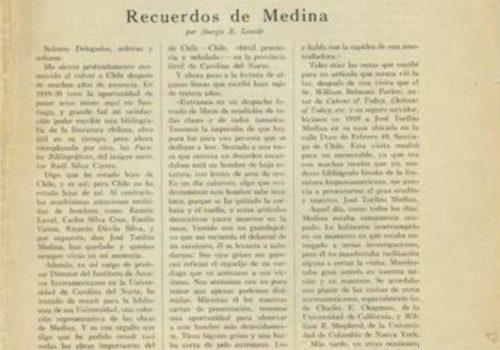 Documentos Para La Historia De La Sociedad De Bibliofilos Chilenos