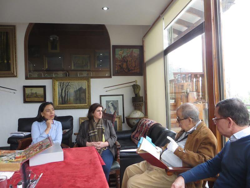 Reunión Nerudiana con Nurieldín Hermosilla