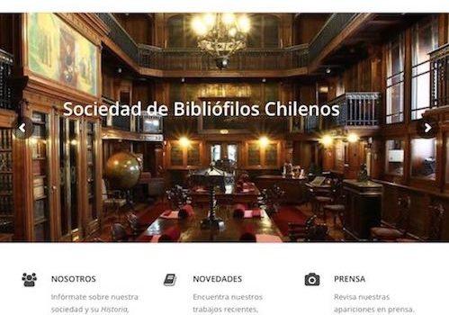 Nº1 / 2018. Página Web Sociedad De Bibliófilos Chilenos, A Cargo De Norma Alcamán Riffo