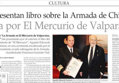Agustín Edwards Presenta Valioso Libro Sobre La Armada De Chile