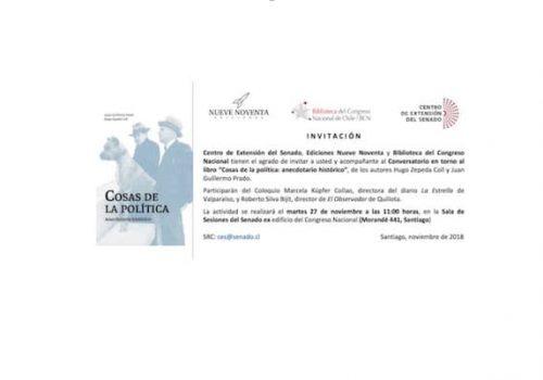 Juan Guillermo Prado Y Hugo Zepeda Presentan Su Libro En Ex Congreso Nacional