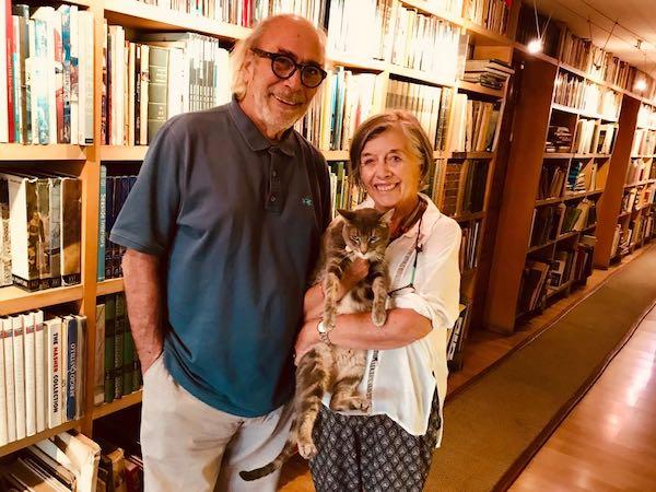Cristián Boza junto a su señora Diana Wilson