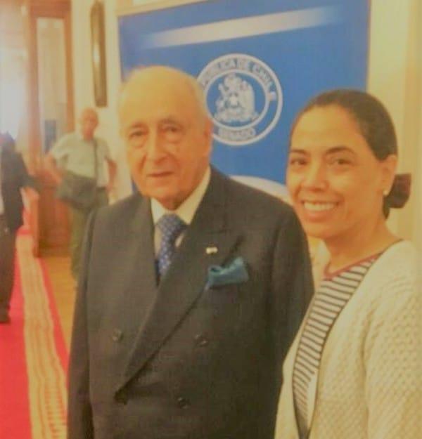 Mariano Fonteciila y Norma Alcamán