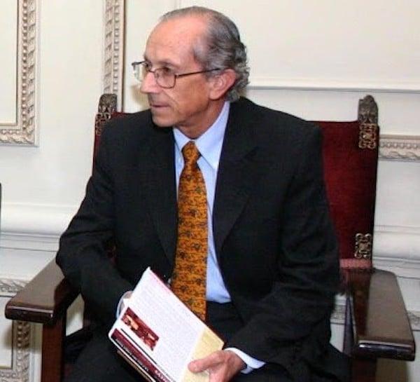 Ignacio Swett, miembro del Directorio de la Sociedad de Bibliófilos Chilenos.