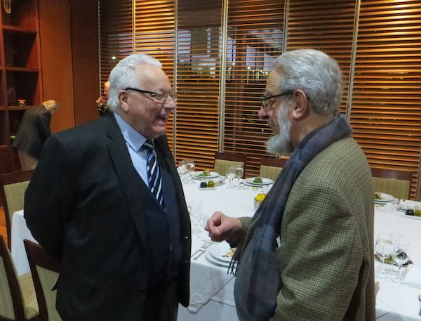 Cristián Zegers y R. Couyoumdjian