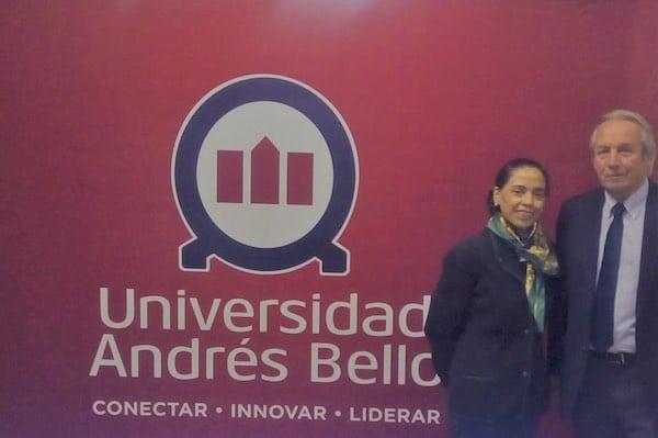 Norma Alcaman SBCh y Rector UAB