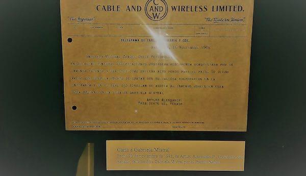 Telegrama A. Alessandri