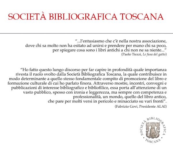 Società Bibliografica Toscana