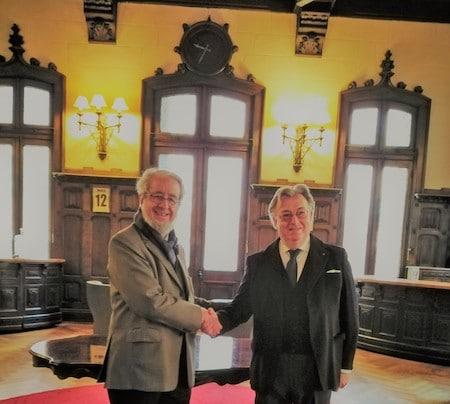 Presidente. Chile con Presidente Toscana