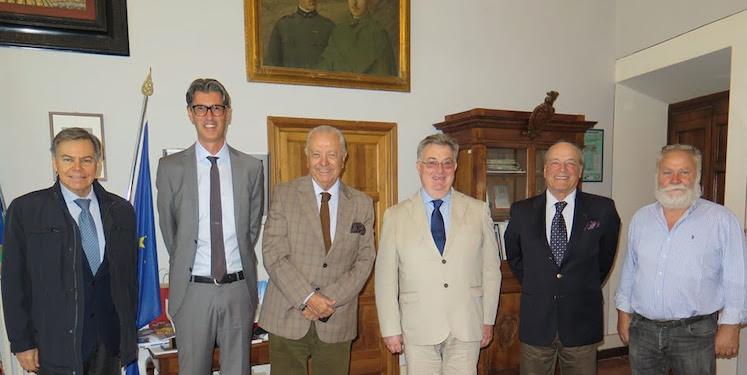 Konrad Paulsen, Sergio Romero, Paolo Tiezzi Maestri