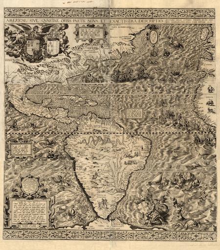 un libro di geografia di Tolomeo