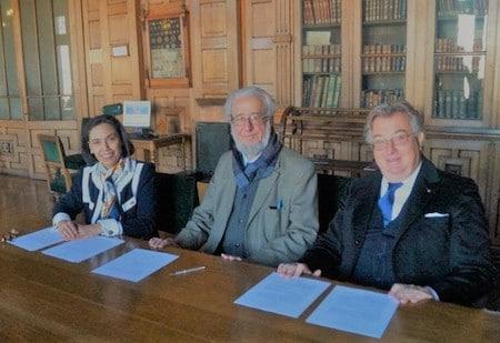 2. Club Union, firma Accordo Internazionale