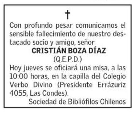 Defunción-Cristián-Boza
