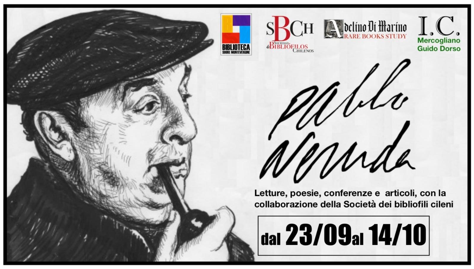 Exposición Pablo Neruda en Italia