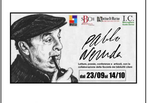 Sociedad De Bibliófilos Chilenos Patrocina Evento Cultural Sobre Pablo Neruda En Italia