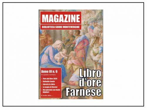 Il Nuovo Numero Di «Magazine», La Rivista Della Biblioteca Suore Di Montevergine In Campania, E' Disponibile On Line