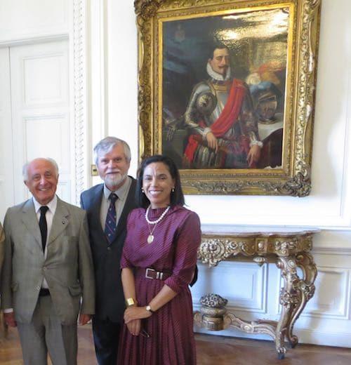 Raúl Irarrázabal, Juan Guillermo Prado y Norma Alcamán Riffo