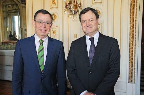 Oscar Alcamán Riffo Y Gonzalo Fernández Valdivieso, Diplomáticos De La Cancillería