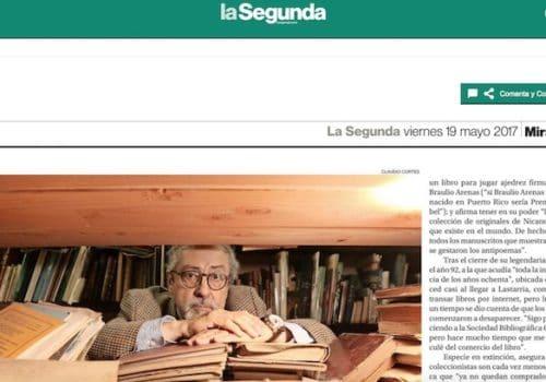 César Soto: El Mayor Coleccionista De Nicanor Parra
