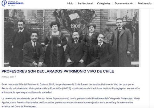 """Juan Guillermo Prado Recibe Premio «Juan Gómez Millas"""""""