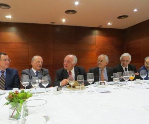 Oscar Alcamán, Franco Brzovic, Raúl Irarrázabal, Roberto Fuenzalida, Luis Valentín Ferrada Y Nurieldín Hermosilla.