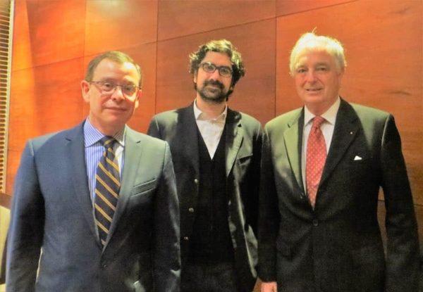 Oscar Alcamán, Pedro Maino y Exequiel Lira (Director).