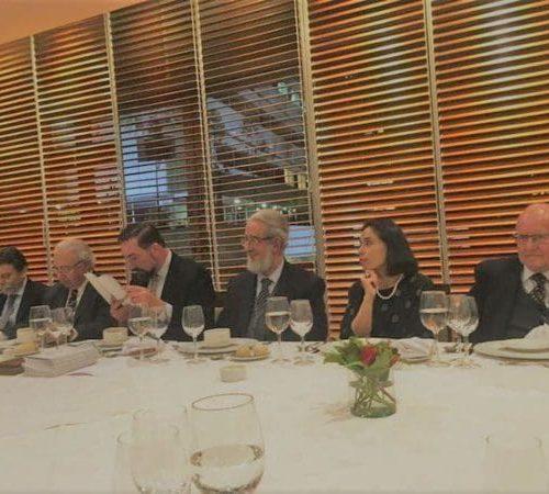 Rodrigo Obrador, Edgardo Corral, Enrique Inda (Director), Felipe Vicencio (Director), Ricardo Couyoumdjian (Presidente), Norma Alcamán Riffo Y Antonio Dougnac.