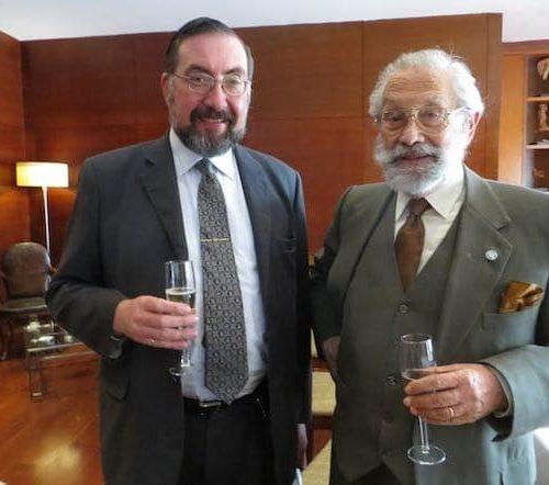 Felipe Vicencio Eyzaguirre Y Sergio Martínez Baeza