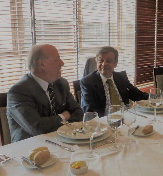 Franco Brzovic y Roberto Guerrero