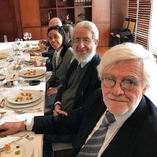 Neville Blanc, Ricardo Couyoumdjian Y Norma Alcamán Riffo