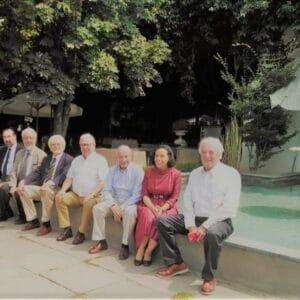 Exequiel Lira durante la reunión de Directorio 2020 de la Sociedad de Bibliófilos Chilenos, en el Club de Golf Los Leones.