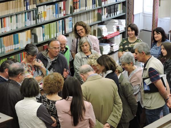 Il pubblico ascolta attentamente la Dottoressa Alessandra Basso