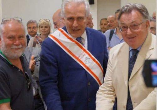 Inauguración De La Exposición «Las Leyes De Cosme De Medici», En Florencia, Italia