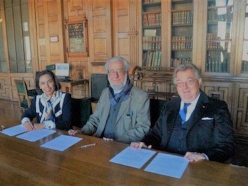 Firma De Acuerdo Cultural Internacional Chileno-Italiano