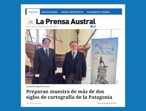 Preparan Muestra De Más De Dos Siglos De Cartografía De La Patagonia