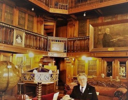Prima Visita Al Cile Del Presidente Della Società Bibliografica Toscana, Avvocato Paolo Tiezzi Mazzoni Della Stella Maestri