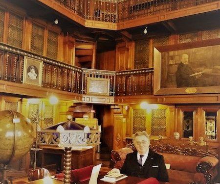 Primera Visita A Chile Del Presidente De La Società Bibliografica Toscana, Conde Paolo Tiezzi Mazzoni Della Stella Maestri