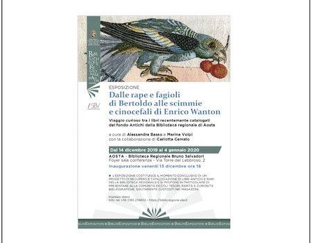 Esposizione «Dalle Rape E Fagioli Di Bertoldo Alle Scimmie E Cinocefali Di Enrico Wanton», A Cura Di Alessandra Basso