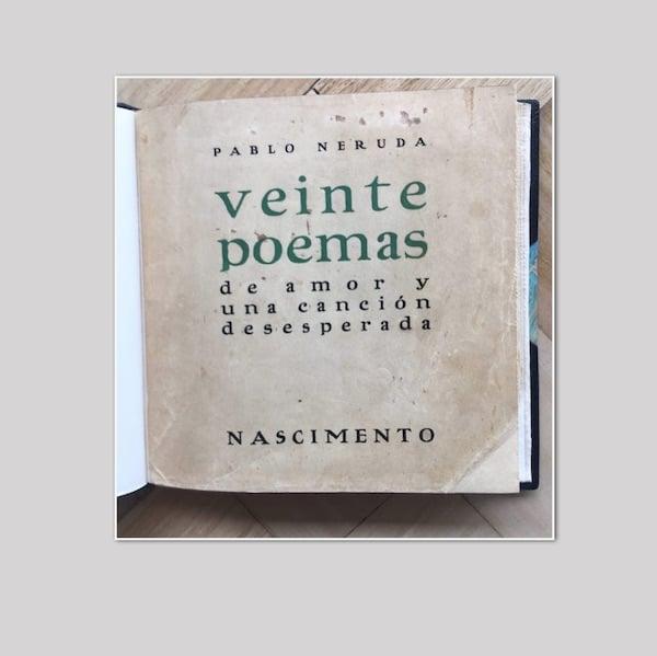 Veinte poemas de amor, 1′ edición (1924)