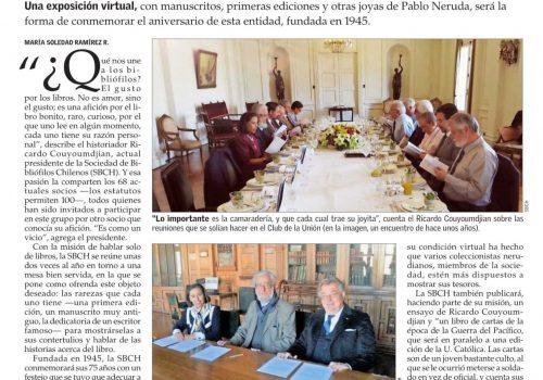 La Sociedad De Bibliófilos Chilenos Celebra Sus 75 Años