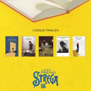I cinque libri finalisti.