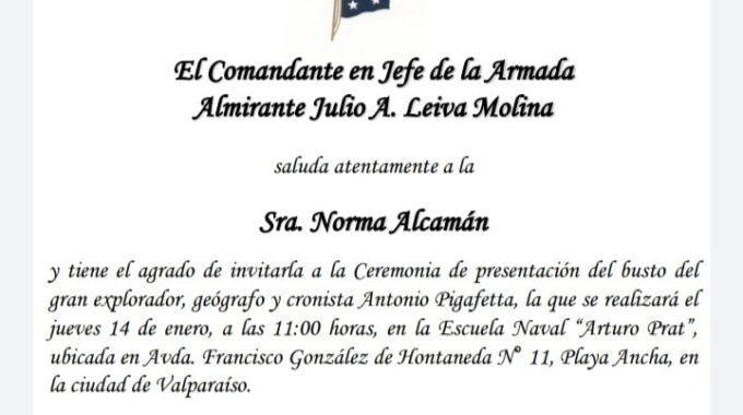Invitación Armada De Chile