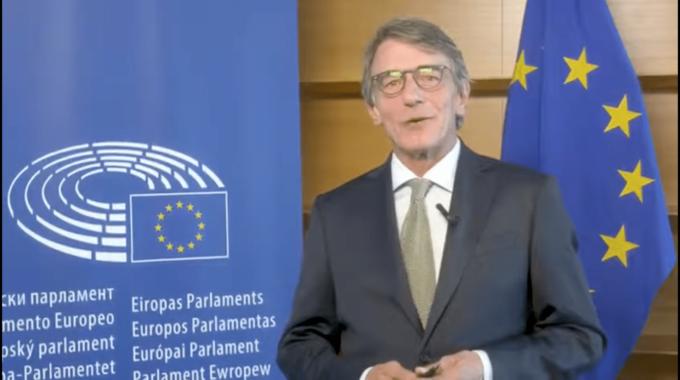 Il Presidente Del Parlamento Europeo David Sassoli Per Le Celebrazioni Pigafetta500 (2019).
