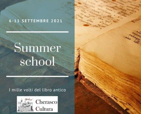 Summer School Dedicata Allo Studio Del Libro Antico. Sabato 11 Settembre 2021.