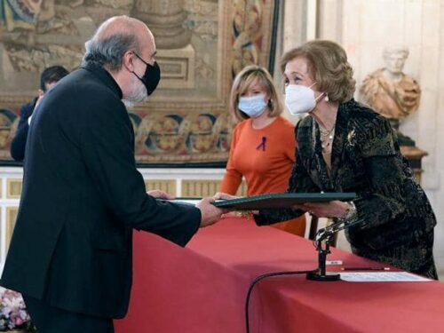 Poeta Raúl Zurita Recibe El Premio Reina Sofía 2020
